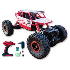 SIVA Rock Crawler Crusher, 2.4 GHz Nikko, Carrera Rc, Rc Autos, Monster Trucks, Rock, Vehicles, Branding, Toy, Skirt