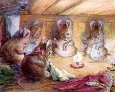"""Es mundialmente conocido su libro de cuentos """"Perico el conejo"""" con entrañables personajes como la ratita Lucinda, la Oca Carlota, los ratones Juan Ciudad y Timoteo Guillermo, o bien el tejón Tomás y el Señor Raposo."""