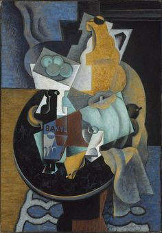Jean Metzinger. Fruit and a Jug on a Table. 1916