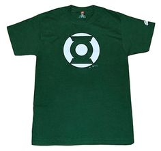 DC Comics Shirts - Green Lantern Symbol IV T-Shirt by Animation Shops