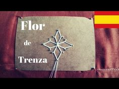 Encaje de bolillos | Flor de Trenza - YouTube