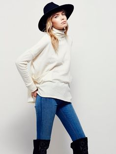 Free People Long Flight Pullover at Free People Clothing Boutique