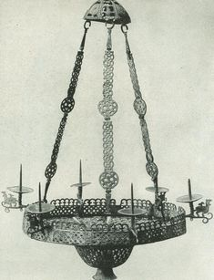 This is the seventh part of an ongoing serial (part part part part part part Among all the furnishings found in a church, lamps have always held a certain sacral honor. Bronze Chandelier, The Kingdom Of God, Furniture Inspiration, Interior Lighting, Middle Ages, Luster, Crosses, Candlesticks, Ukraine