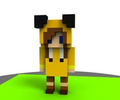Image of Voxel Character