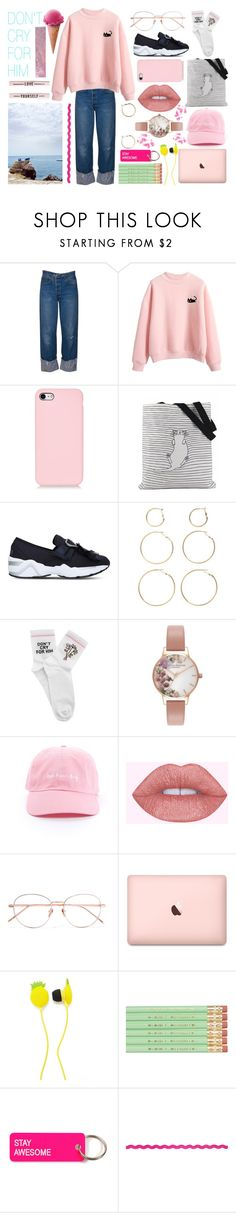 """""""DON'T CRY FOR HIM"""" by roigponsmarina ❤ liked on Polyvore featuring Suecomma Bonnie, BP., Yeah Bunny, Olivia Burton, Linda Farrow, Forever 21 and Various Projects"""
