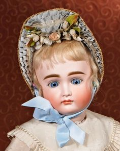 "Lot: VERY LOVELY EARLY CLOSED-MOUTH DOLL BY KESTNER, Lot Number: 0005, Starting Bid: $600, Auctioneer: Frasher's Doll Auction, Auction: ""Adoring Eyes"" Antique Doll Auction, Date: March 1st, 2015 EST"