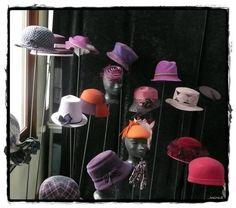 Flapper Hat, Hat Boxes, Cloche Hat, Hat Shop, Felt Hat, Hat Pins, Headbands, Outfits, Math