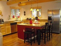 table islands | Kitchen Island Table : Kitchen Designs with Islands Ideas from Kitchen ...