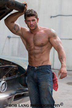 Colin Wayne © ROB LANG roblangimages.com # male fitness model bodybuilder