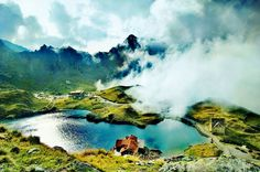 Balea Lac in Fagaras