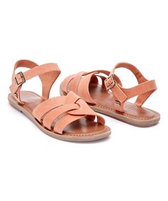 Brown Leather Zoe Sandal