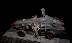 """P-38 """"The Flying Clutchman""""   `Against All Scales` Kit Bash"""