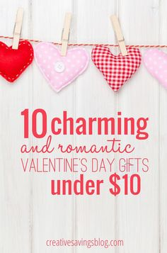 Valentine's Day might be on the smaller side of official holidays , but it's a great reminder to shower our friends and family with love and appreciation. These particular gifts are not only charming and romantic for your special someone, they're just the right size for your wallet too! Includes gifts for HIM and HER.