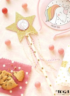 DIY - Comment faire DIY Anniversaire Enfant : Ma Baguette Magique Licorne ? Conseil Diy Birthday, Happy Birthday, Party Hacks, Wands, Unicorn, Crafts For Kids, Creations, Homemade, Blog