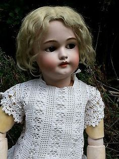 ANTIQUE DOLL SHES GORGEOUS
