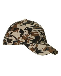 96c2d37bcc97c Big Accessories   Bagedge BX018 Unisex Unstructured Camo Hat