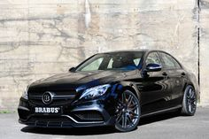 The BRABUS C 63 S Is a 600 HP Colossal Family Sedan