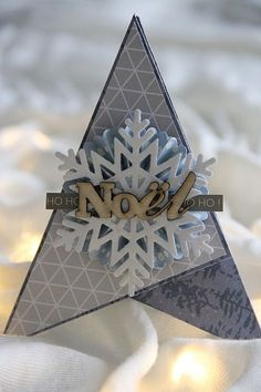 Pour ce 3ème rendez-vous du DDBK je vous propose de réaliser des cartes de saison mettant en scène un des symboles de noël : le sapin. Pour ce projet j'ai choisi d'utiliser la collectio…
