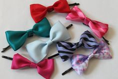 Adorable Large Hair Bow For Infants Babies Teens by ivylively, $3.00