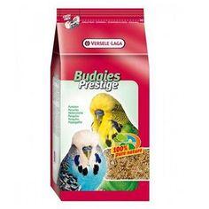 Versele Laga Budgies Muhabbet Kuşu Yemi özel içeriği sayesinde tüylerin parlak ve sağlıklı olmasını sağlar. Ayrıca kuşunuzun ihtiyaç duyduğu tüm besinsel değerlere sahiptir.