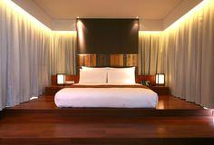 Hansar Luxury Boutique Hotel - Vertigo Suite Bedroom http://www.boutiquebangkok.com/bangkok/hansar-bangkok-hotel