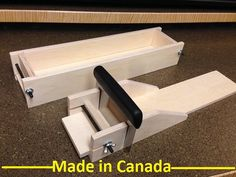 5 lb. Wooden Soap Mold and Adjustable Bar Cutter by WoodSoapMolds