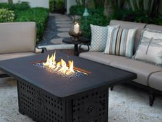Stay warm with during chilly winter nights outside! PatioFurniture.com #firepit #outdoorfire #patiofurniturecom