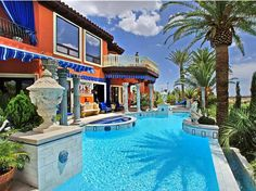 An Eye-Popping $22.5 Million Mansion in Las Vegas! Check this out.