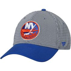 new product 86099 727f9 Men s New York Islanders Fanatics Branded Gray Royal Breakaway Flex Hat,  Your Price