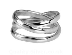 Tianguis Jackson Silver Wound Ring