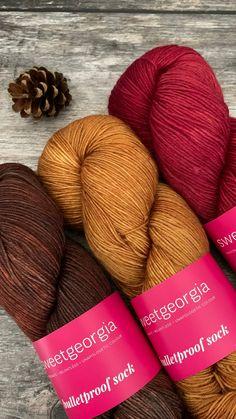 Luxurious sock yarn from SweetGeorgia Yarns just arrived Yarn Shop, Finger Weights, Sock Yarn, Needles Sizes, Knitting Socks, Tangled, Yarns, Crochet Projects, Merino Wool