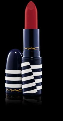 Love this color! Lipstick in 'Red Racer' from M.A.C.'s new collection 'Hey, Sailor!'