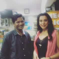 #Networking with #bollywood #Actress Pooja Bedi in Mumbai #india