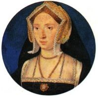 It has been proposed that this portrait by Lucas Horenbout, once thought to be Anne Boleyn, is in fact the true face of Mary Boleyn. Excerpts: Mary was the first child born to Thomas Boleyn and Elizabeth Howard. Thomas Boleyn, born in possibly 1466/1467. February 4th 1520, in the Chapel Royal at Greenwich, Mary Boleyn married Sir William Carey. Became the mistress of King Henry VIII in approximately 1522. Read more...