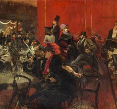 Giovanni Boldini - Moulin Rouge