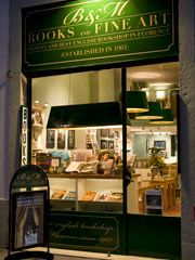 B Books and Fine Art: the oldest and best English bookshop in Florence