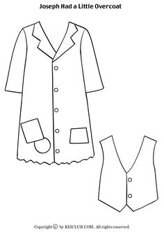caldecott award coloring pages   Joseph had a little overcoat worksheet   button theme ...