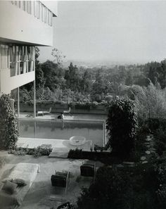 Designed and built in Los Angeles between 1927-29, Richard Neutra's Lovell House is an early example of the International Style in the United States.