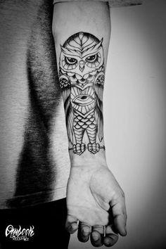 Owlook Tattoo