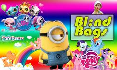 Suprise Basket Blind Bags - My Little Pony - Minions - Puppy in My Pocke...