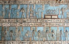 Brilliant painted relief of stars 4 to 8 in the zodiac sequence at the ancient Egyptian fertility and love temple of the goddess Hathor at Dendera Ancient Art, Ancient Egypt, Ancient History, Egyptian Temple, Egyptian Art, Egyptian Things, Luxor, Egypt Museum, Photos Voyages