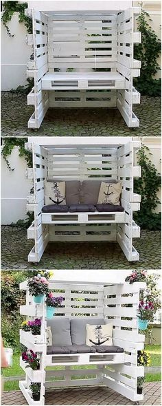 On the last of our image, we have the overall ideal designing project of the wood pallet seating area with cushions for you! This will be giving you out with the dramatic idea about how the seating area will come up with the designing approach for you at the end of the day.