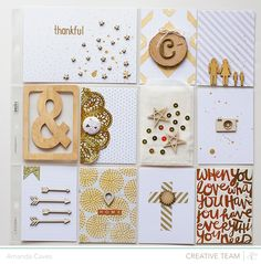 gorgeous pocket page by Amanda Caves @Studio_Calico