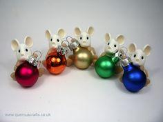 Little Bauble Mouse (£18)