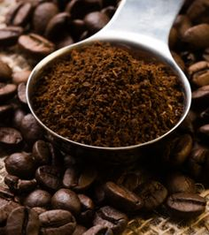 """""""Used coffee grounds improve soil quality for houseplants."""" She mixed 2 tablespoons of freshly used coffee grounds into a very tired and dying potted plant's soil, saturated it thoroughly, then set it in bright sunlight for a few hours. The plant was completely revived. --Please be careful, some plants can be burned by adding coffee grounds directly to the soil.---"""