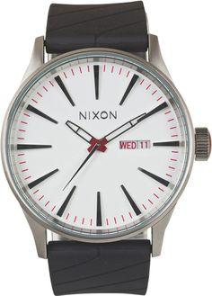 NIXON THE SENTRY WATCH http://www.swell.com/NIXON-THE-SENTRY-WATCH-1?cs=WH#