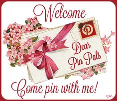 Welcome... Come pin with me ♥
