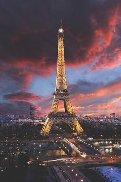 Beautheos | Beauty, Fashion and Styles – visualechoess:   Somptueuse Tour Eiffel…