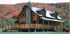 My Dream Home....Log Cabin House with a Wrap Around Porch....