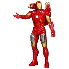 The #Avengers #IronMan Action Figure